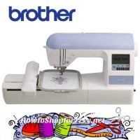 $121 OFF Brother Embroidery Machine (Built-in Memory, USB Port, Fonts & Designs!) Today Only!