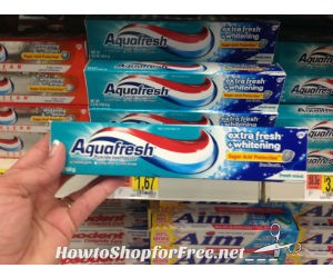 92 Aquafresh WM How to Shop For Free with Kathy Spencer