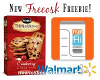 Free Nonni's THINaddictives at Walmart with Freeosk!