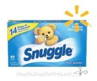 .84 Snuggle Dryer Sheets at Walmart!!