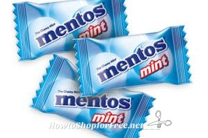 Free Mentos Mints at Walmart with Freeosk!