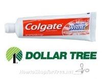 50¢ Colgate Toothpaste at Dollar Tree!
