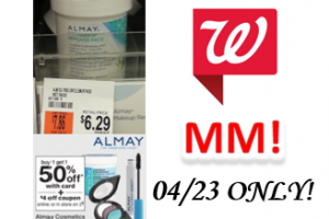 MM on Almay at Walgreen's!