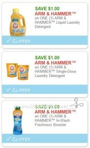 image about Arm and Hammer Coupons Printable called Contemporary Printable Discount coupons** 3 Arm Hammer Discount codes Pre-Clipped