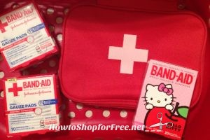 FREE First Aid Kit at Target with Purchase, through 5/20
