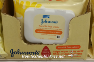 Johnson's Hand & Face Wipes Only $.92 at Target! 4/30 – 5/6