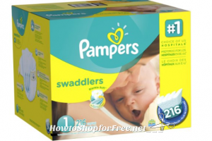 **Amazon Deals** Pampers Diapers as Low as ONLY $.09 Each!