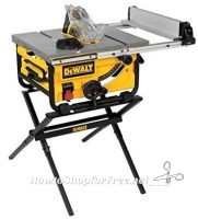 **Amazon Deal of the Day** TODAY ONLY! DeWalt10-Inch Compact Job Site Table Saw ~ ONLY $334.99!