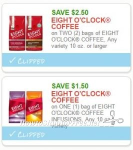EIGHT COFFEE COUPONS