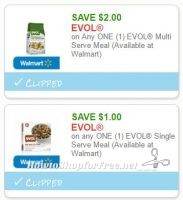 **NEW Printable Coupons** 2 Evol Coupons Pre-Clipped for You!