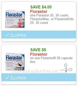 New Printable Coupons 2 Florastor Coupons Pre Clipped For