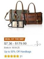 **Amazon Deal of the Day**HOT**Up to 50% off Handbags ~ TODAY ONLY!