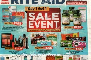 Rite Aid Early Ad Scan ~ April 16-22