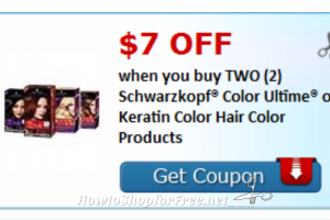 ***Print Print*** Hot High Value $7/2 Schwarzkopf Coupon!!!