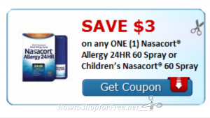 picture about Nasacort Coupon Printable known as Print and Maintain*** Fantastic Coupon For allergy year $3/1