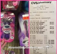 HOT DEAL!!! Schick Disposable Razors $5.90 Money Maker after ECB's at CVS(4/23/17-4/29/17)