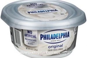 WOW Philadelphia Cream Cheese only $1.76 at Stop & Shop(5/5/17-5/11/17)