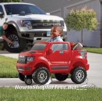 **Amazon Deals** WOWZA! Step2 2-in-1 Ford F-150 SVT Raptor, BEST Price!