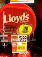 YUM! Lloyd's BBQ Shredded Beef only $1.99 at Stop & Shop through 4/27!