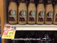 WOOHOO! Starbucks Frappaccino Drinks 50 cents at Stop & Shop after Gas Points!!