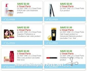 picture relating to L Oreal Printable Coupons identified as Contemporary Printable Coupon codes** 6 LOreal Discount coupons Pre-Clipped for