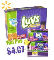 Luvs Diapers UNDER $5 at Walmart