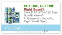 Did You Print this High-Value Right Guard Coupon Yet?