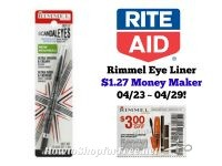 Rimmel Eye Liner $1.27 MONEY MAKER at Rite Aid 04/23 ~ 04/29!!