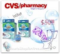 WOW Scrubbing Bubbles Toilet Gel Only $.50 CVS (4/16/17-4/22/17)