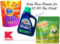$2.49 Laundry Products at Kmart!! ~TOP Brands! (4/9-15)