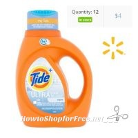 $2 Tide Ultra Stain Release Turbo (37oz) with Clearance+Coupon!!