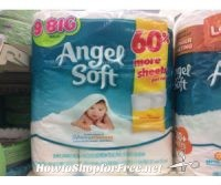 Angel Soft Bath Tissue at Walgreens for $2.54 with Coupon
