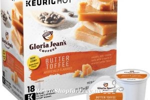 18ct. Gloria Jean's Coffee K-Cups only $2.88!!!