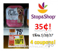 Bella Dog Food only $.35 at Stop & Shop!