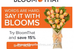 15% off Flowers from BLOOM THAT! ~Perfect for Mother's Day!