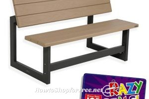 53% OFF Lifetime Convertible Bench/Table after Crazy Deal!