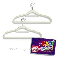 FREE Flocked Hangers at ALL Job Lots! ~Crazy Deal