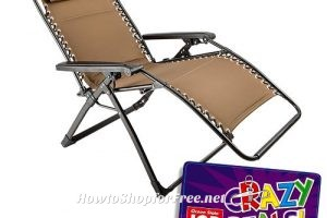 Oversized Zero Gravity Chair $35 at #OSJL this week! ~Crazy Deal