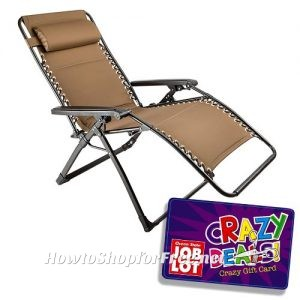 Oversized Zero Gravity Chair $35 At OSJL This Week!