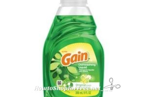 GLITCH.. RUN NOW! 18 Gain Dish Soaps for .97!
