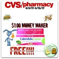 WOW $1.00 Money Maker on Calendula Cream at CVS (4/9/17-4/15/17)