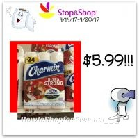 Hot Deal Charmin Ultra soft or Strong Toilet Paper only $5.99 at Stop & Shop(4/14/17-4/20/17)