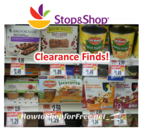 Stop & Shop Clearance Items!