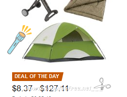 Up to 30% OFF Coleman #Camping Favorites ~Deal of the Day
