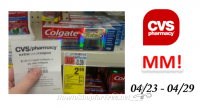 MM on Colgate Toothpaste at CVS!