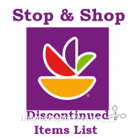 NEW! Stop & Shop Discontinued Items List