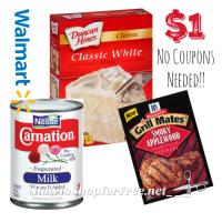 $1.00 Pantry Deals at Walmart! ~through 4/27