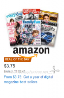 Digital Magazines, as low as $3.75/year ~Amazon DotD