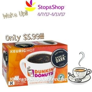 Hot Deal Dunkin Donuts KCup packs only 599 at Stop Shop4717