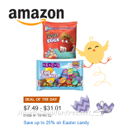Save up to 25% on #Easter Candy ~Today Only on Amazon!